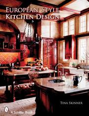 Cover of: European Style Kitchen Designs