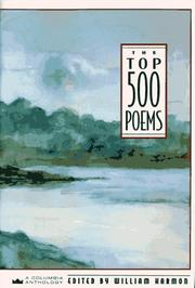Cover of: The Top 500 poems | edited by William Harmon.