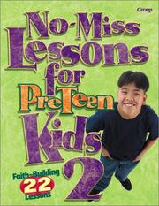 Cover of: No-Miss Lessons for Preteen Kids 2 |