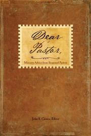 Cover of: Dear Pastor