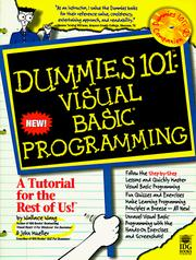 Cover of: Dummies 101