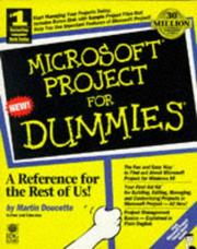 Cover of: Microsoft project for dummies