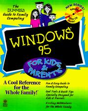 Cover of: Windows 95 for kids & parents | Lisa Price