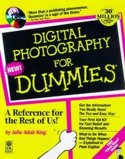 Digital photography for dummies by Julie Adair King