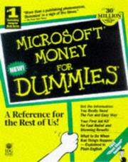 Cover of: Microsoft Money 98 for dummies