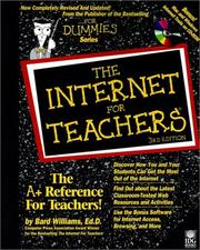 The Internet for teachers by Bard Williams