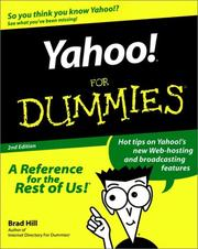 Cover of: Yahoo! for dummies