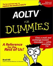 Cover of: AOLTV for Dummies
