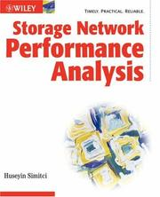 Cover of: Storage Network Performance Analysis | Huseyin Simitci