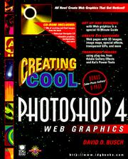 Cover of: Creating cool Photoshop 4 Web graphics
