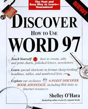 Cover of: Discover Word 97