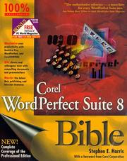 Cover of: Corel WordPerfect Suite 8 bible