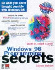 Cover of: Windows 98 programming secrets