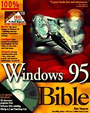 Cover of: Windows 95 bible