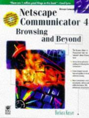 Cover of: Netscape Navigator 4 browsing and beyond