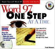 Cover of: Word 97 One Step at a Time