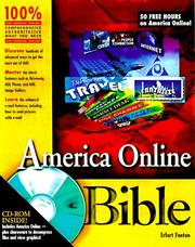 Cover of: America Online bible