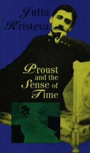 Cover of: Proust and the Sense of Time