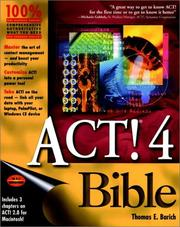 Cover of: ACT! 4 bible