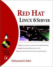 Cover of: Red Hat® Linux® 6 Server | Mohammed J. Kabir