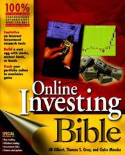Cover of: Online Investing Bible | Jill S. Gilbert, Thomas S. Gray, Claire Mencke, Jill Gilbert Welytok