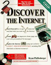 Cover of: Discover the Internet