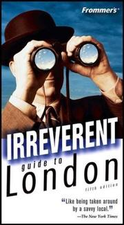Cover of: Frommer's Irreverent Guide to London (Irreverent Guides)