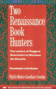 Cover of: Two Renaissance book hunters