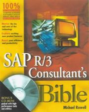 Cover of: SAP R/3 consultant's bible