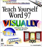 Cover of: Teach yourself Word 97 visually. |