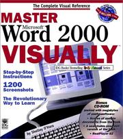Cover of: Master Microsoft Word 2000 visually