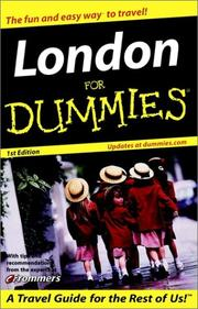 Cover of: London for Dummies