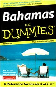 Cover of: Bahamas for Dummies | Rachel Christmas Derrick
