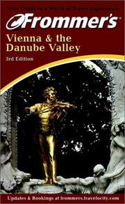 Cover of: Frommer's Vienna & the Danube Valley