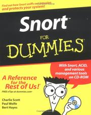 Cover of: Snort for dummies |