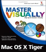 Cover of: Master VISUALLY Mac OSX Version X