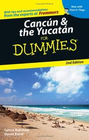 Cover of: Cancún & the Yucatán for dummies by