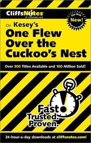 CliffsNotes Kesey's One flew over the cuckoo's nest by Bruce E. Walker