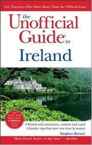 Cover of: The Unofficial Guide to Ireland (Unofficial Guides) | Stephen Brewer