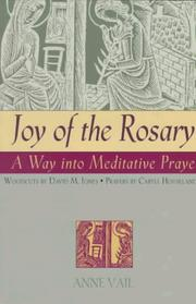 Cover of: Joy of the rosary | Anne Vail