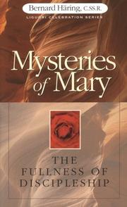 Cover of: Mysteries of Mary