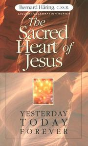 Cover of: The Sacred Heart of Jesus | Bernard