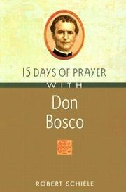 Cover of: 15 Days of Prayer With Don Bosco (15 Days of Prayer Books) | Robert Schiele