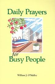 Cover of: Daily prayers for busy people