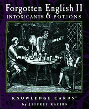 Cover of: Intoxicants & Potions | Jeffrey Kacirk