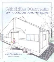 Cover of: Mobile Homes by Famous Architects