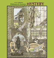 Cover of: Edward Gorey Mystery 2007 Calendar