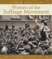 Cover of: Women of the suffrage movement by Janice E. Ruth