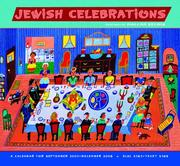 Cover of: Jewish Celebrations 2008 Calendar | Malcah Zeldis