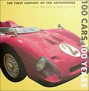 Cover of: 100 cars 100 years